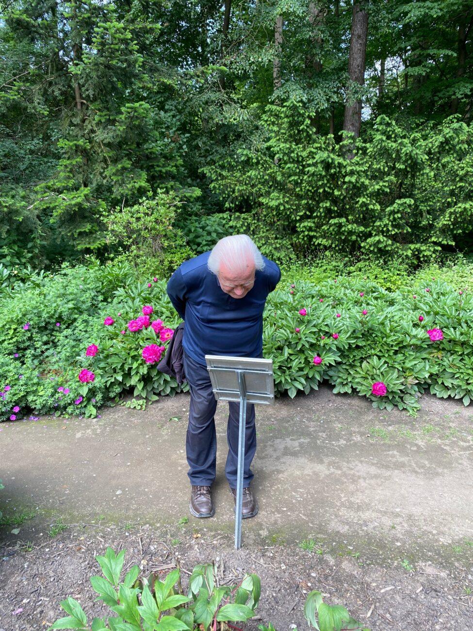 Entdeckung des Forstbotanischen Gartens